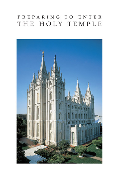 Temple Recommend Holder Christ's Ascension Latter Day Saint